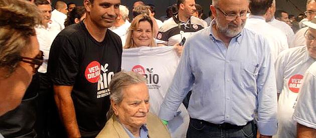 Luiz Paulo participa de passeata em defesa dos Royalties e Participação Especial