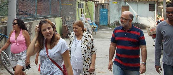 Luiz Paulo visita Pedra Lisa