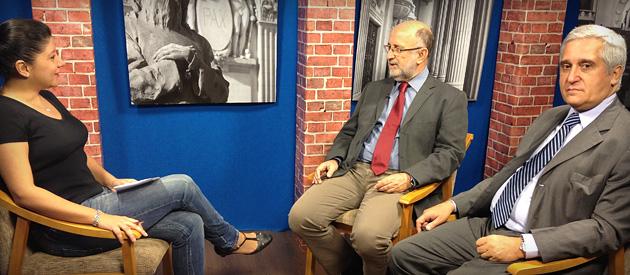 Luiz Paulo debate problemas nas Barcas na TV Alerj