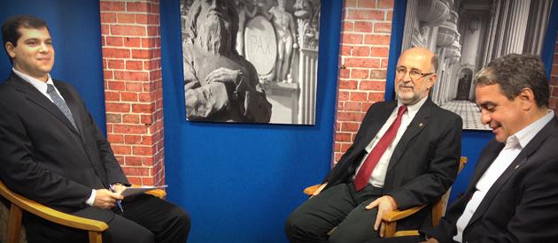 Luiz Paulo debate problemas das Pecs 33 e 37 em tramitação no Congresso