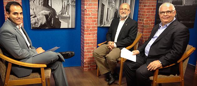 Luiz Paulo debate fragilidade da economia nacional na TV Alerj