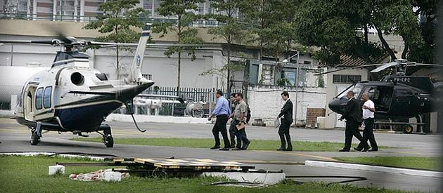 Ministério Público abre investigação sobre viagens de Cabral de helicóptero