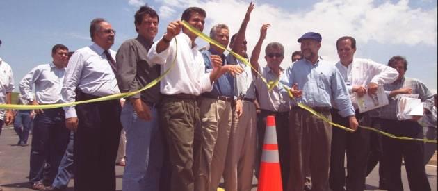 Inauguração da Via Lagos (Gustavo Stephan / Agência O Globo)
