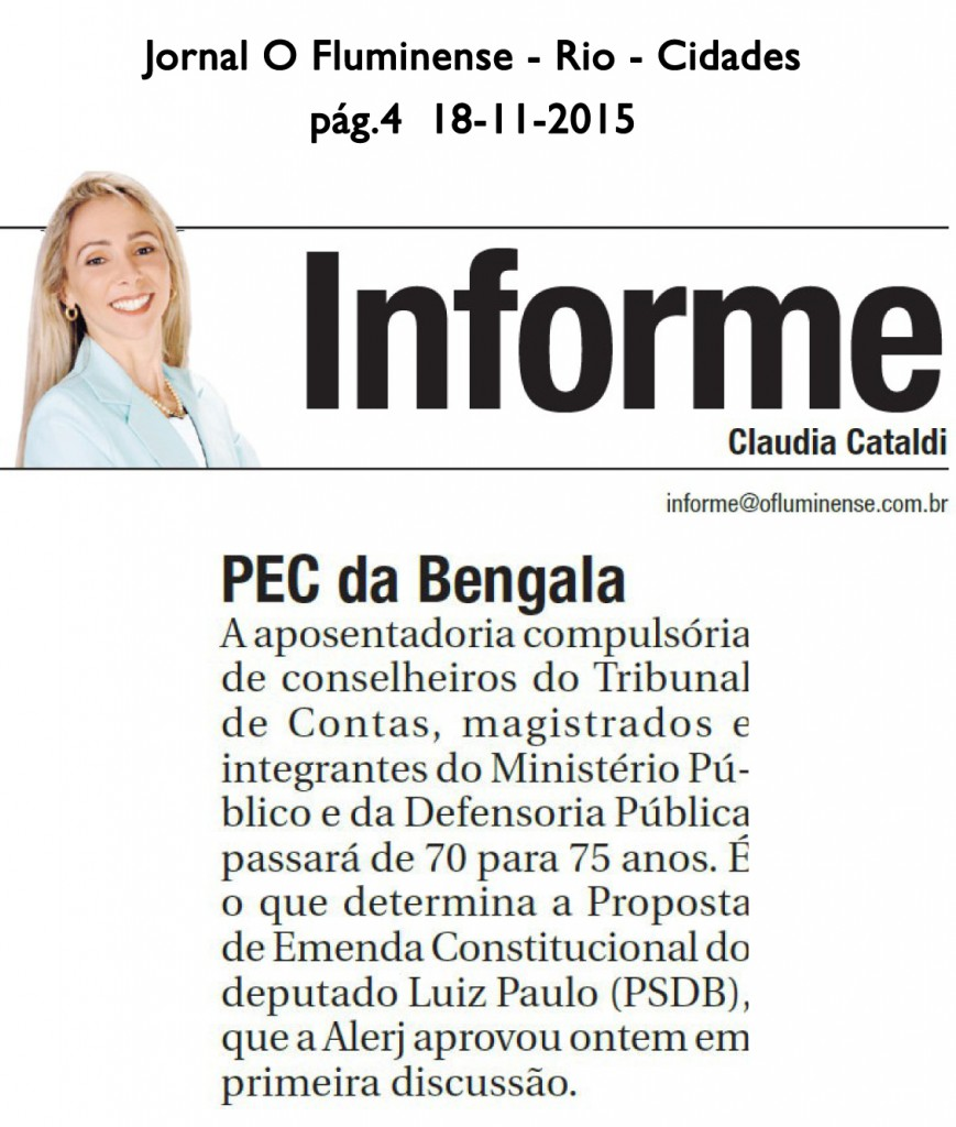 PecdaBengal! Fluminense