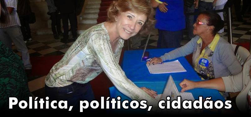 Política, políticos, cidadãos