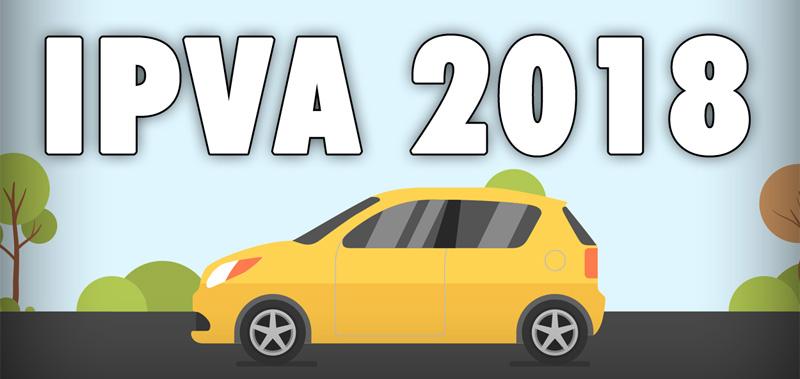 IPVA 2018 – Informativo