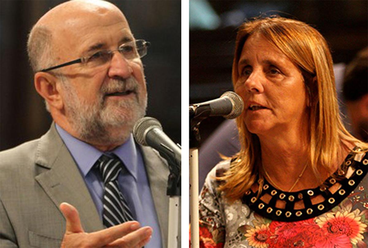 Luiz Paulo e Lucinha: compromisso real com a social democracia